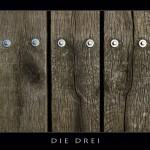 Holz, Gesichter, Schrauben