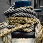 Schiffswrack, Tauhalter, Schiffstau